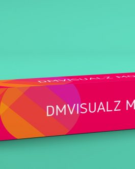 box tube psd mockup 2